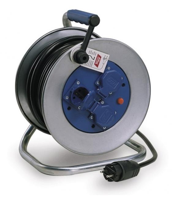 Enrollacable 3X2,5Mm 50Mt 4000V Ip55 3T-Tt Termoestato Metal. TAYG