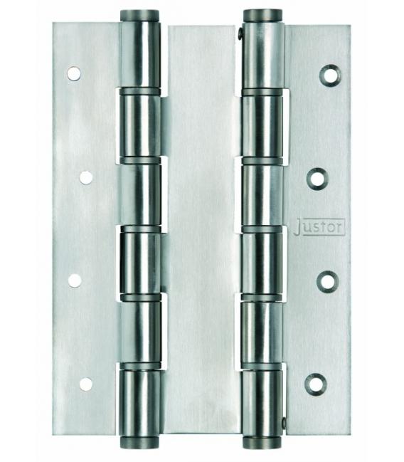 Bisagra Puerta Vaivén 180x40mm 5914.05 Inox Doble Acción 2 Pz. JUSTOR