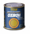 Esmalte antioxidante martele exterior gris 750 ml. TITAN