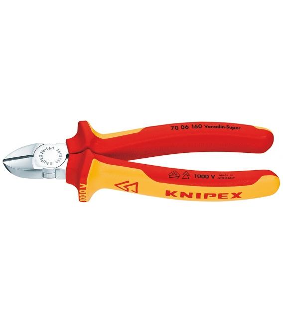 Alicate corte diagonal 160mm KNIPEX