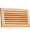 TABLA CORTAR PAN 40X24X6CM ESTANDAR