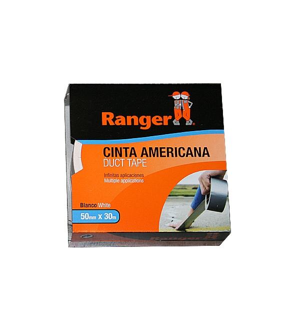 CINTA AMER 50MMx 30MT RANGER BLANCO