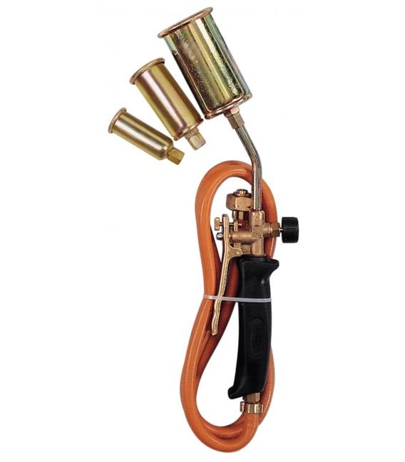 Soldador a gas butano/propano manguera gatillo regulable. BUTSIR