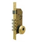 Cerradura de seguridad madera embutir. 1 punto. 60mm R200B666L. TESA