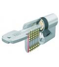 Cilindro Seguridad 30x30mm T65D3030L Latón seguridad  T60D. TESA