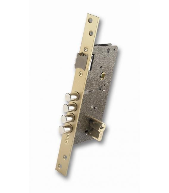 Cerradura seguridad latón 25x50mm EZCURRA 700B-DS15