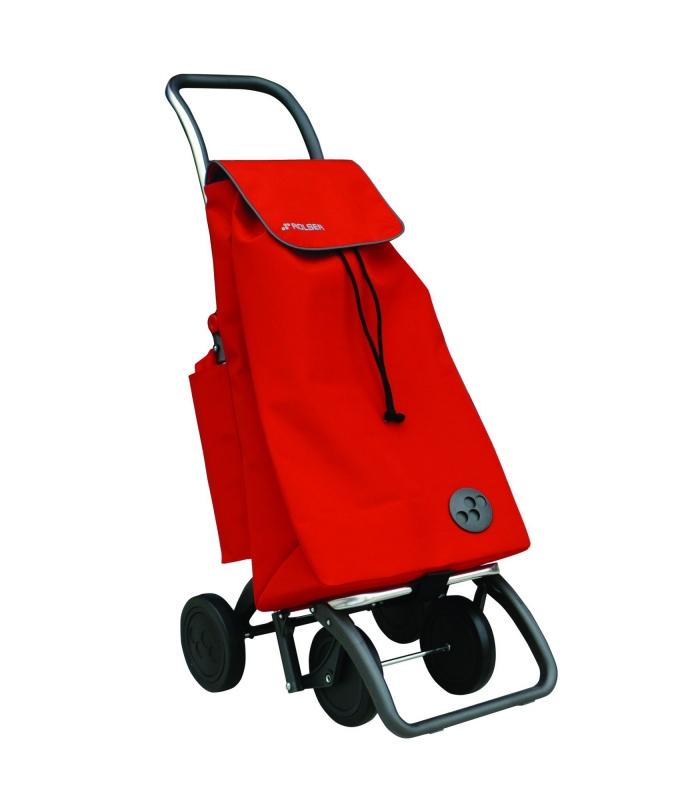 ab064ab0e26 Carro Compra 4 ruedas Pack Termo MF Rojo ROLSER
