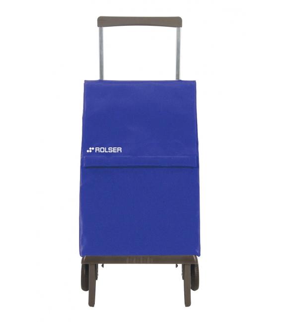 Carro compra 2R azul PLE001. ROLSER