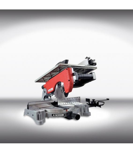 Ingletadora 1800W Con Mesa SUP. Aluminio Disco 250MM SC2500W
