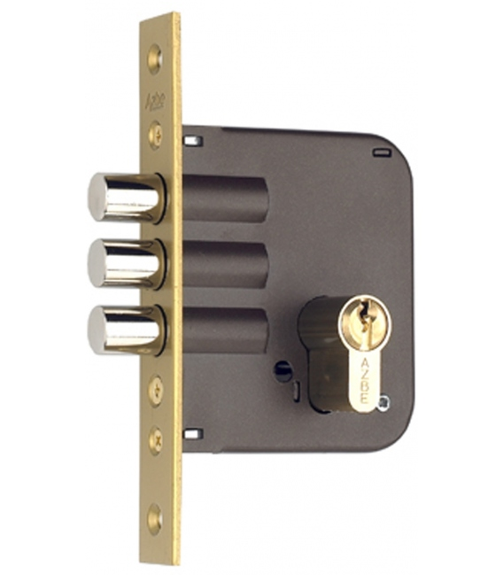 Cerradura Madera Embutir 23x50mm 811803030Bc Bicapa Canto Cuadrado. YALE
