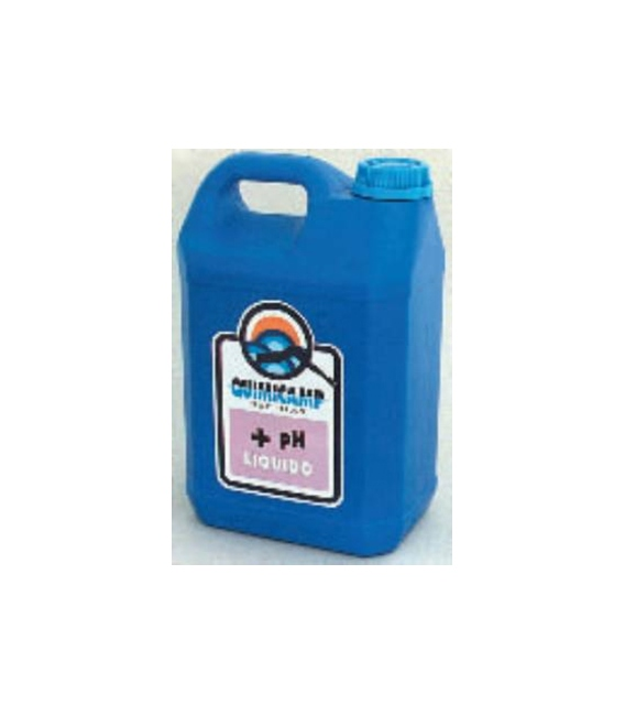 Elevador PH piscina líquido 6kg QUIMICAMP