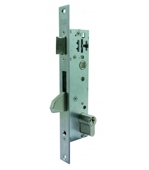 Cerradura Metálica Embutir 15x25mm 2210Be253Ai Inox Picaporte/Palanca Basculante. TESA