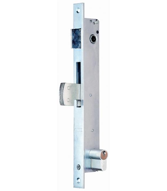 Cerradura Metálica Embutir 23x21mm 5580 Niquel Picaporte/Gancho. LINCE
