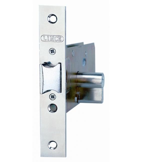 Cerradura metálica embutir zócalo 23X60MM. LINCE