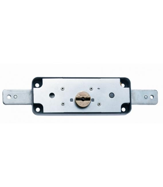 Cerradura Metal Sobreponer 1511B Acero Cincado Puerta Metálica Basculante. MCM
