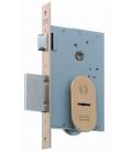 Cerradura Seguridad Madera Embutir 22X9,5X60Mm 1808-60 Latón  MCM