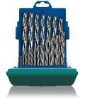Broca metálica rectangular HSS 01-10 MM 19pz. HELLER