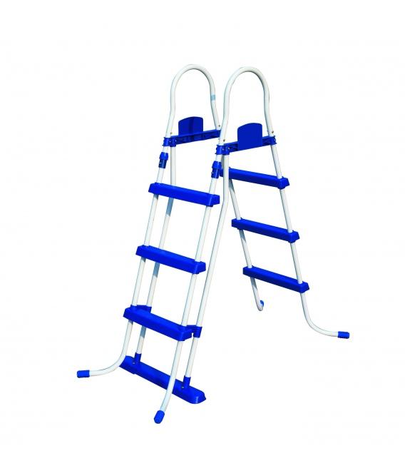 Escalera peldaños plástico 107cm BESTWAY