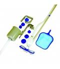 Recogehojas piscina multifunción, kit mantenimiento. BESTWAY
