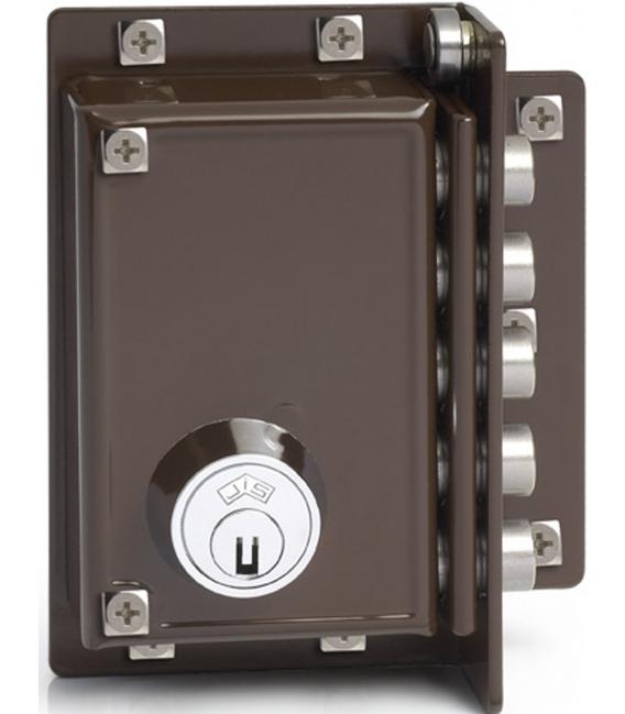 Cerradura seguridad derechas 88x40mm JIS