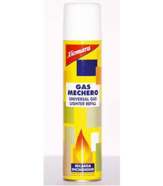GAS MECHERO RECARGA 300ML XIOMARA