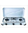 Cocina de gas portátil 3 fuegos
