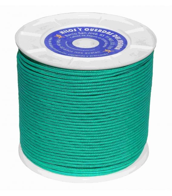 Cuerda trenzada 04,5mm verde HYC