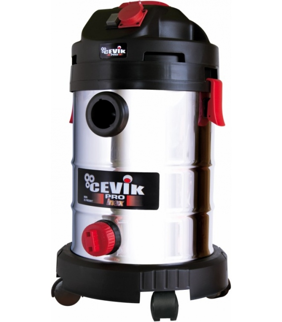 Aspirador seco/líquido 30LT Inoxidable. CEVIK