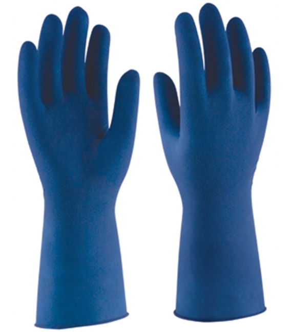 GUANTE LATEX MULTIUSO LP BLUE AZ L09 130