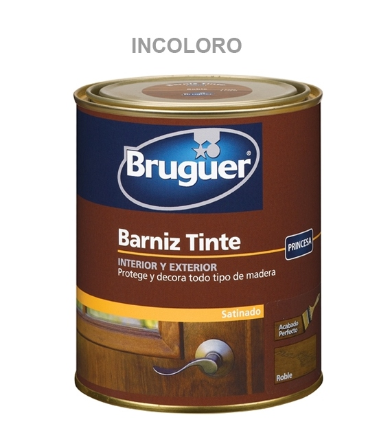 BARNIZ SAT. INT EXT INCOLORO 750 ML