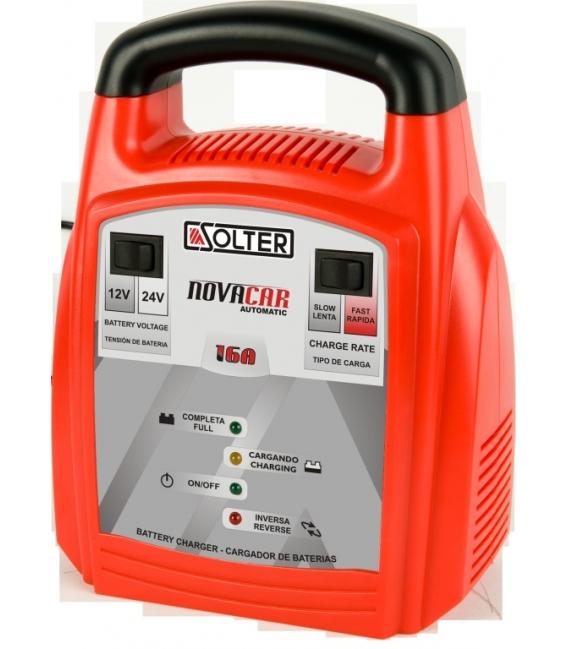 Cargador batería SOLTER NOVACAR