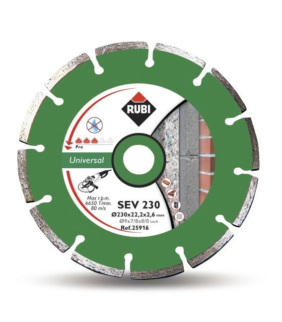 Disco corte 230mm RUBI Basic L SEV 230