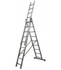 Escalera industrial aluminio 3x2,50mts TEICOCIL