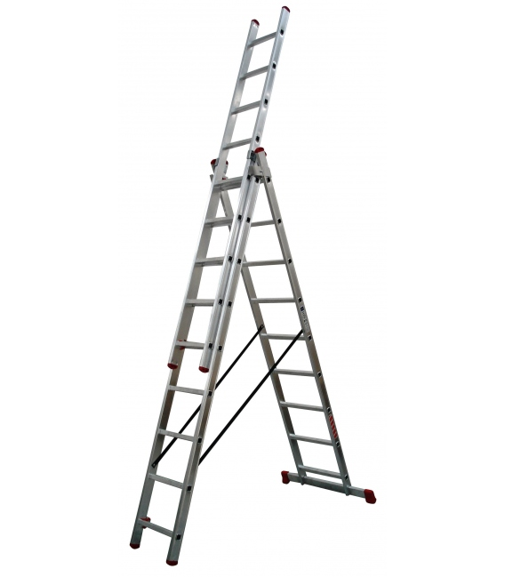 Escalera industrial trnasformable 7'12mts TEICOCIL