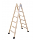 Escalera de madera doble con taco CLIMENT