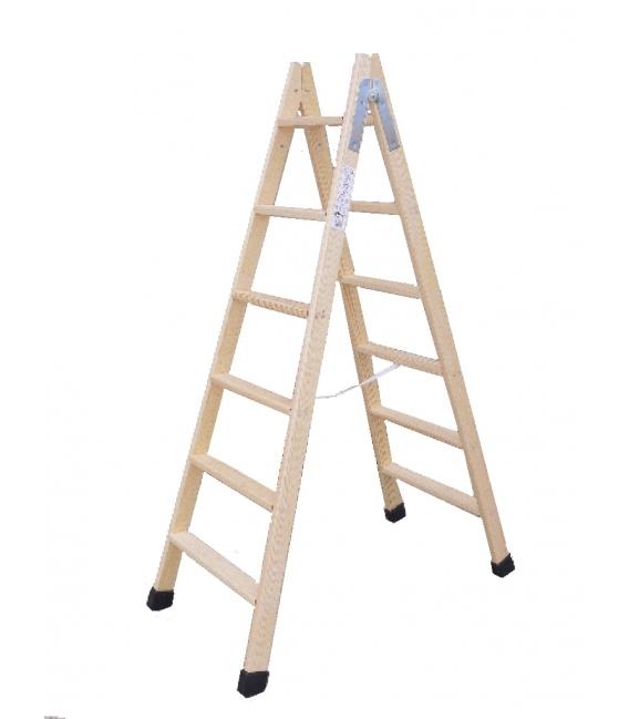 Escalera madera doble 2.25mts CLIMENT