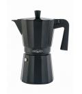 Cafetera aluminio NEGRA OROLEY
