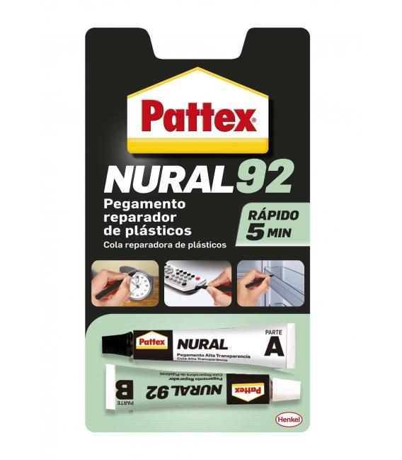 Adhesivo NURAL-92 plásticos. PATTEX