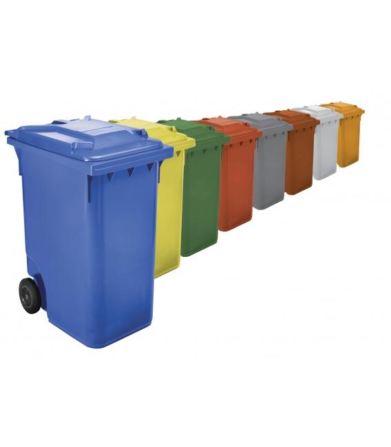 Contenedor de basura con ruedas verde 360 LT. W-WEBER