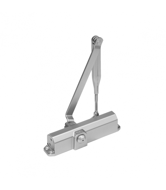 Cierrapuertas brazo retenedor blanco DORMA TS COMPACT