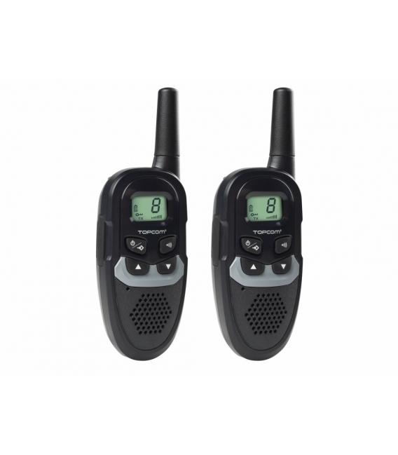 Walkie talkie vigilancia uso libre 6km alcance. TOPCOM