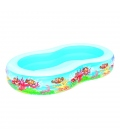 Piscina hinchable oval BESTWAY Fondo mar
