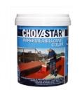 Caucho líquido rojo impermeable 20kg CHOVA