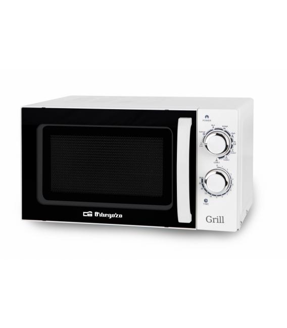 Microondas con grill 900W ORBEGOZO