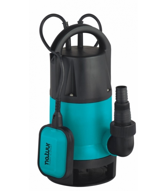 Bomba de agua sumergible NATUUR. Apta para aguas sucias