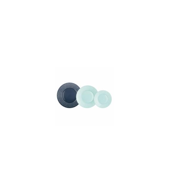 Vajilla 18 piezas vidrio LUMINARC