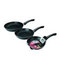 Sartenes cocina 18-22-26cm IBILI Indubasic