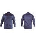 Camisa trabajo XL Algodón/Fibra Antiestática Azul Welder ignifuga WL. TOTAL
