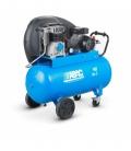 Compresor de aire 90 litros, transmisión por correas ABAC