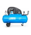 Compresor de aire 150 litros, transmisión por correas ABAC